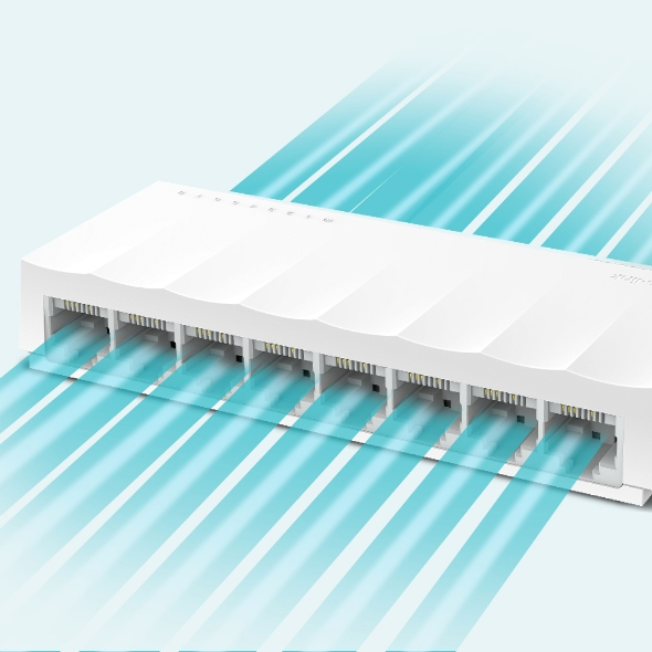 TP-LINK SWITCH 8PORT 10/100 (TL-LS1008D)