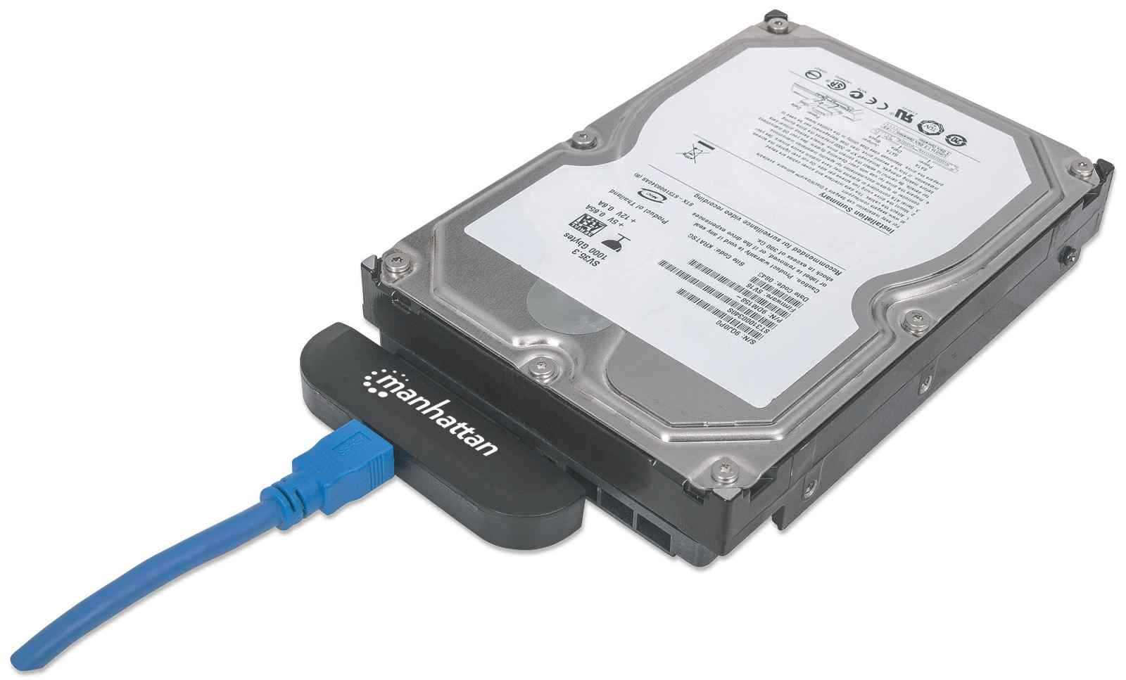 MANHATTAN ADAP USB3.0/SATA